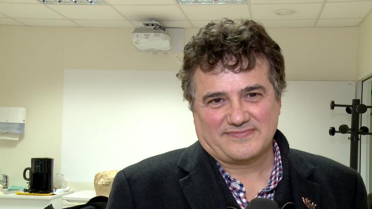 Patrick Pelloux en visite à Sarreguemines