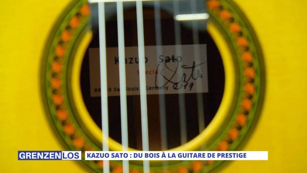Kazuo Sato : du bois à la guitare de prestige