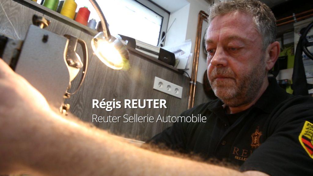 Régis Reuter et la sellerie automobile