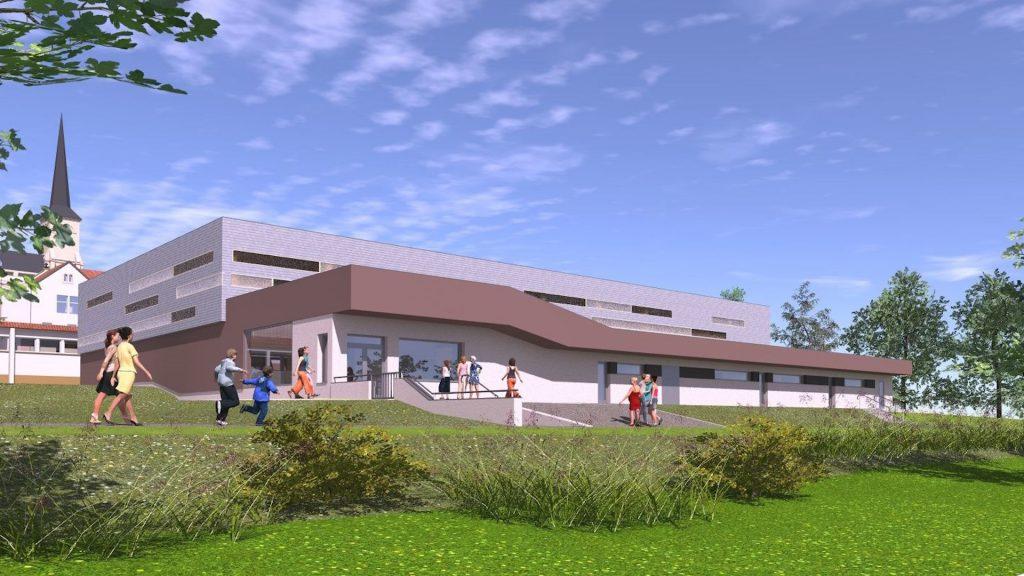 Bientôt un gymnase de 1150m² à Holving