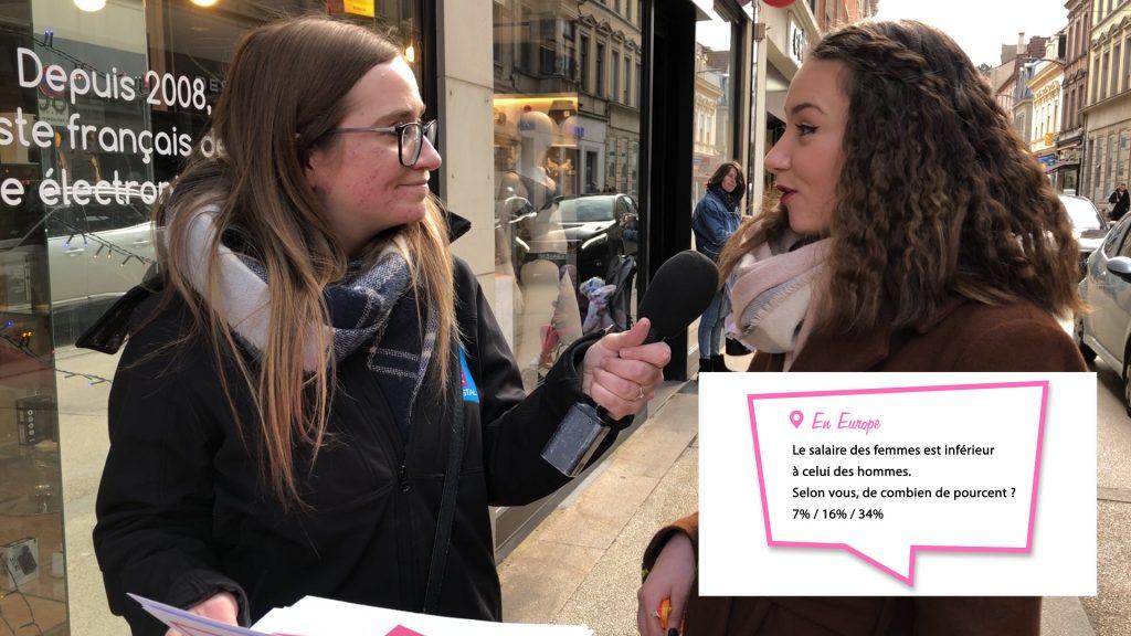 Les passants connaissent-ils les droits des femmes ?