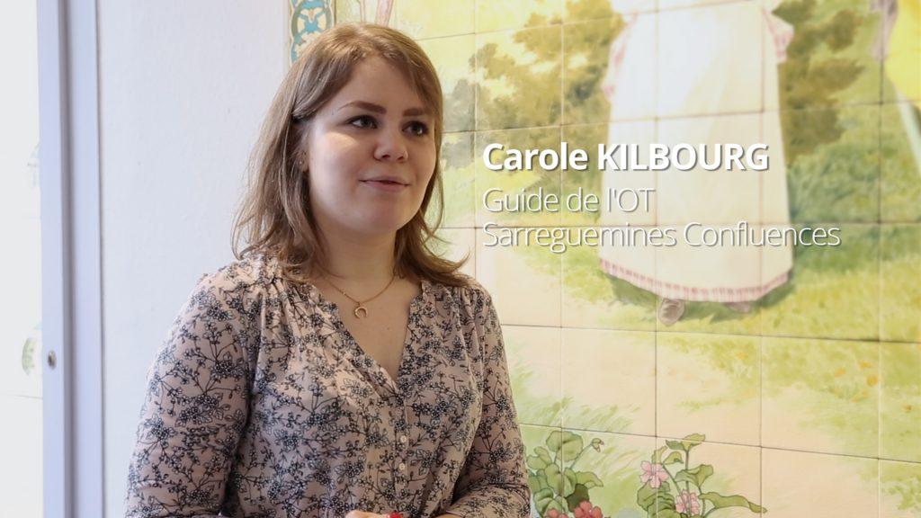 Carole Kilbourg, guide à l'office de tourisme