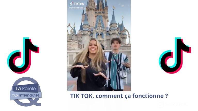 Tik Tok, une nouveauté du web