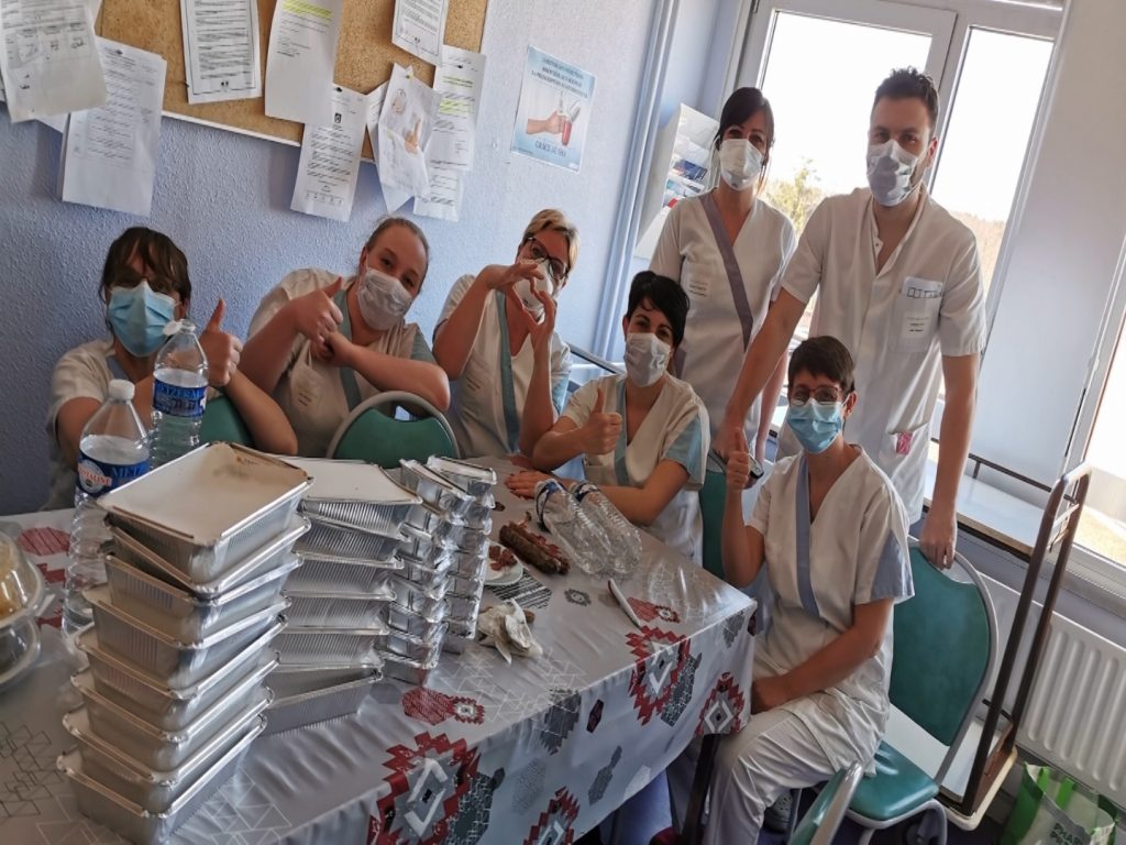 2000€ pour préparer des repas pour les soignants - TV8 Moselle-Est