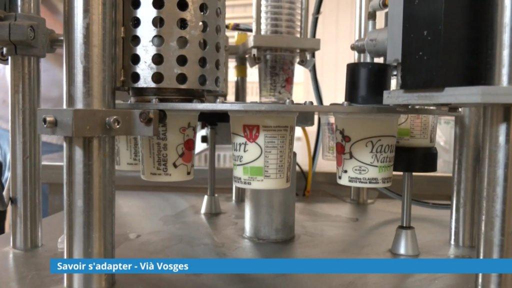 Le Gaeg de Salm adapte sa production du laitage - ViaVosges