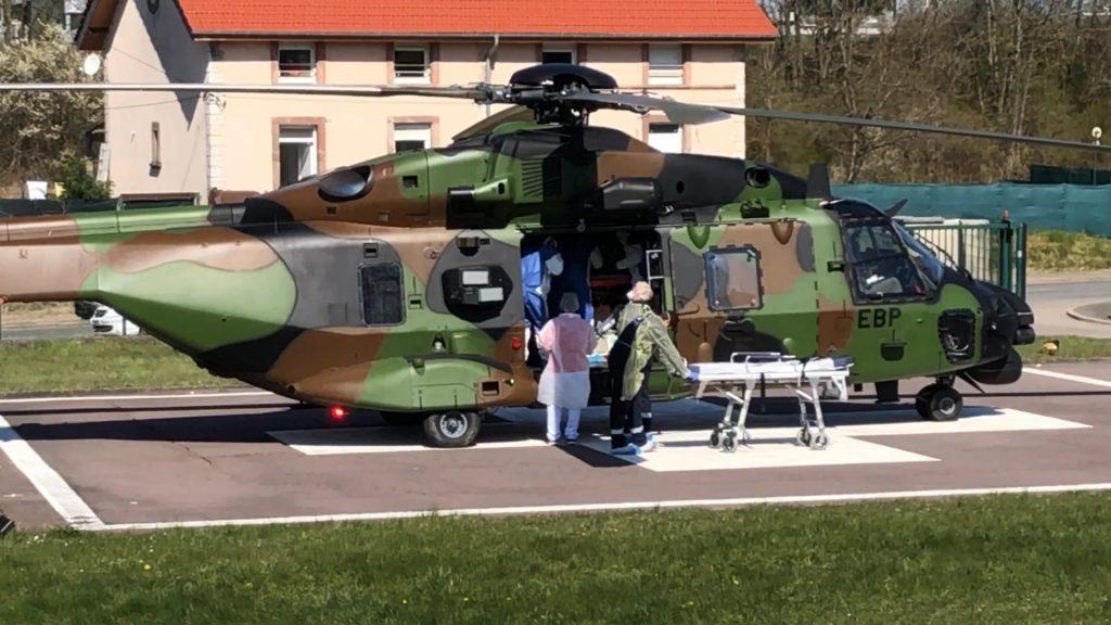 Transfert patients covid en Allemagne