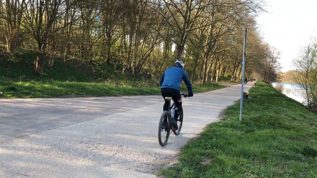Le vélo, une activité autorisée en Sarre