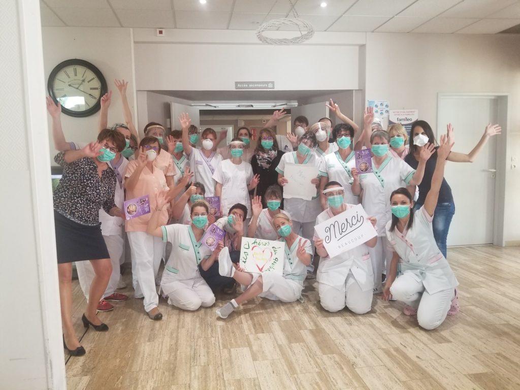 L'association Ange Alycia offre des repas aux hôpitaux et EHPAD
