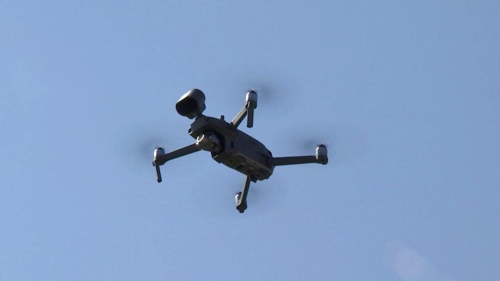Un drone de contrôle