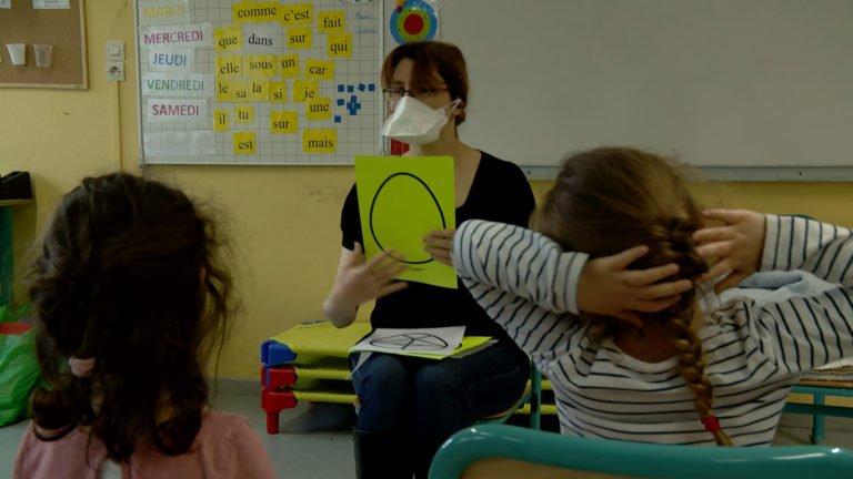 Maud Fontenoy accueille les enfants