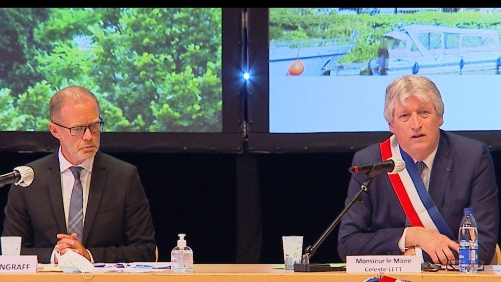 Marc Zingraff, nouveau maire de Sarreguemines