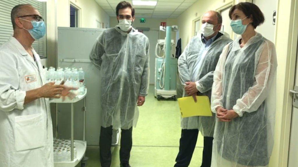 L'hôpital Robert-Pax commence à reprendre son souffle