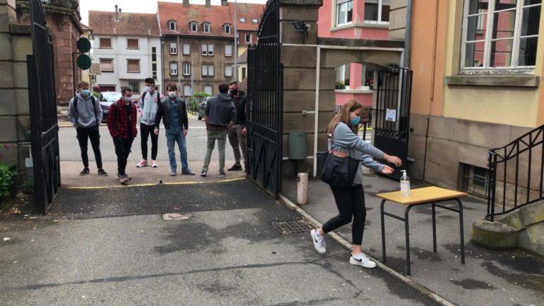 Le lycée Jean de Pange rouvre pour 80 élèves
