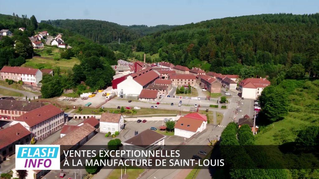 Ventes exceptionnelles à la manufacture de Saint-Louis