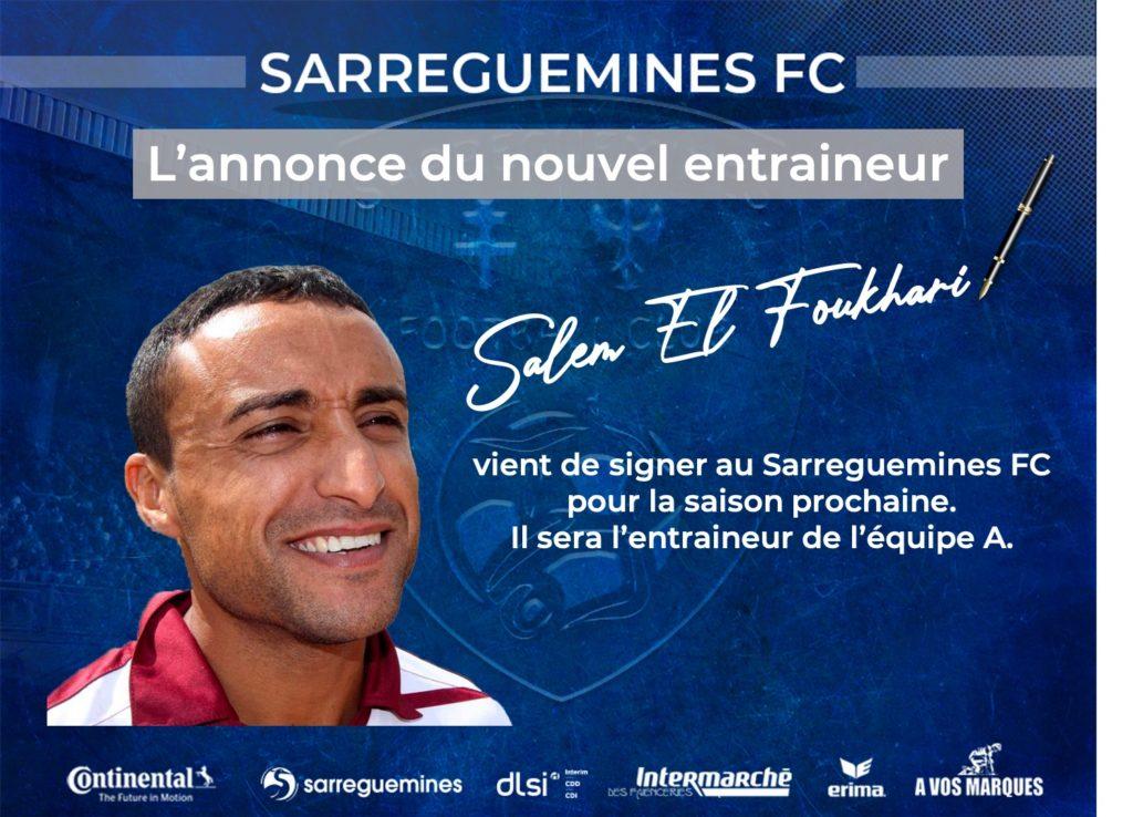 Salem El Foukhari est le nouveau coach de l'équipe fanion du SFC.