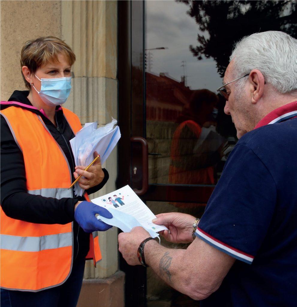 Les habitants de Sarreguemines sont invités à venir récupérer des masques