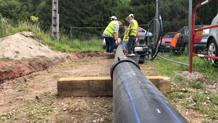 Le réseau d'eau potable rénové !
