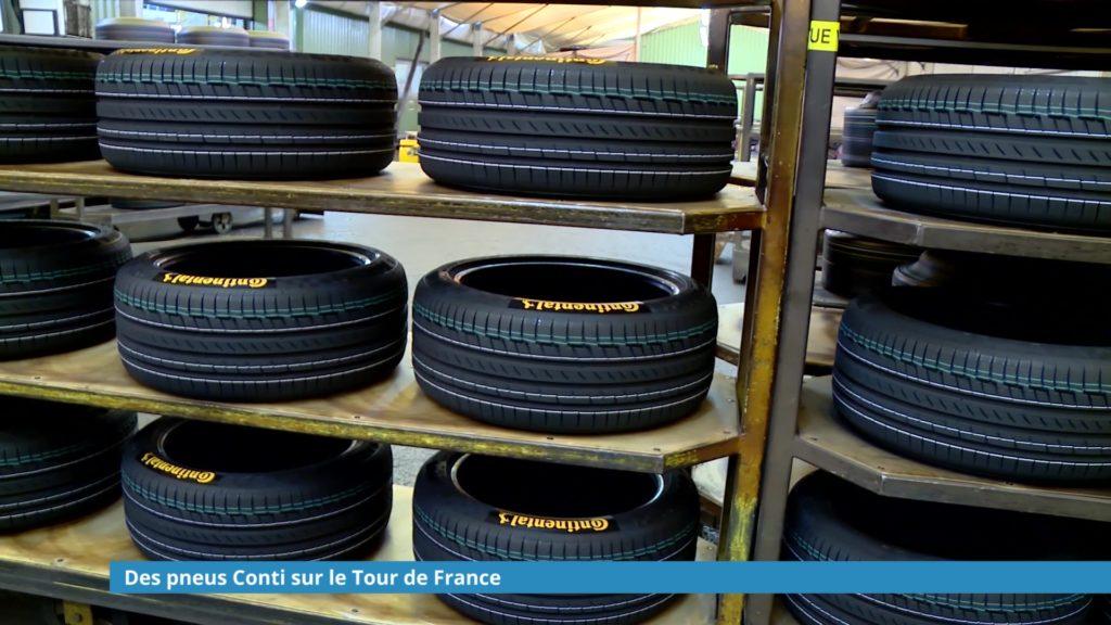 Des pneus Conti sur le Tour de France