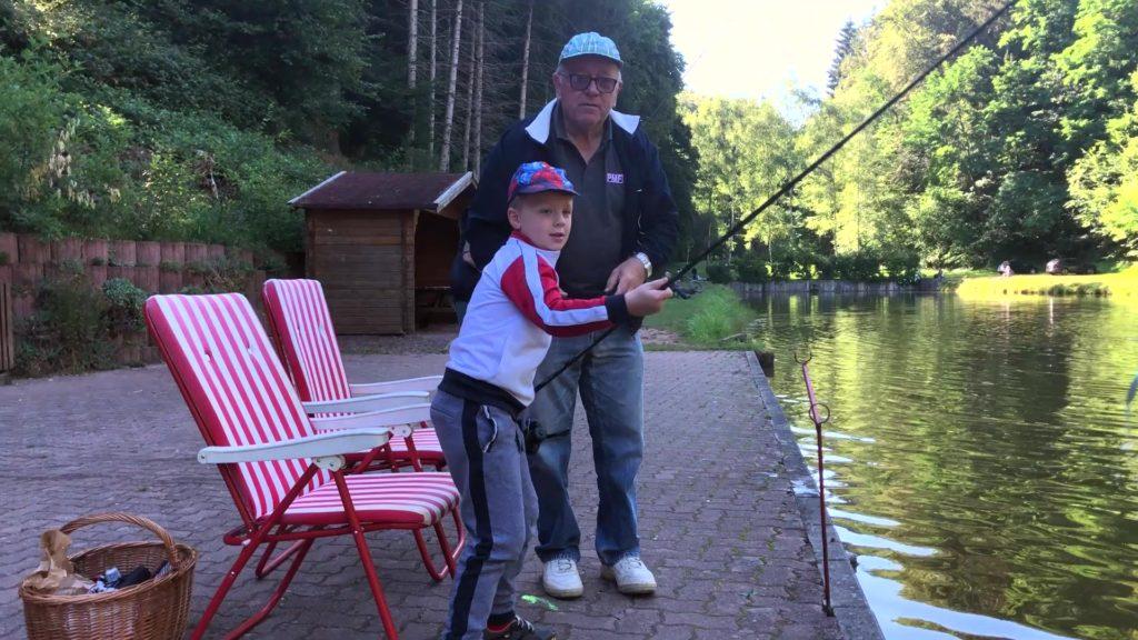 Silence ! On pêche !