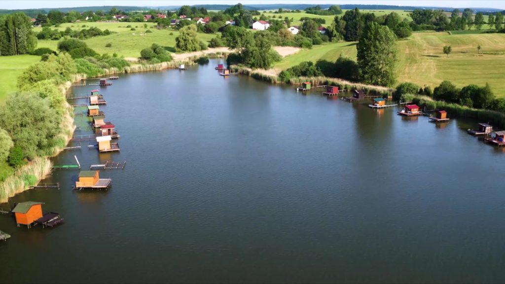 L'étang du Welschhof, le paradis des pêcheurs
