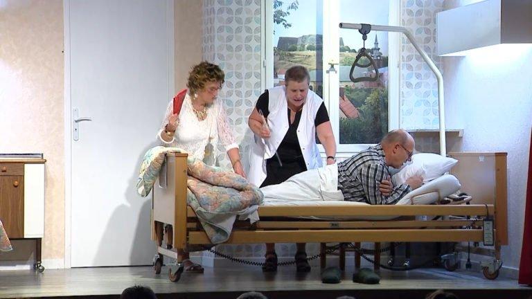 Théâtre Bettviller : Drei Patiende in Ehnem Zimmer