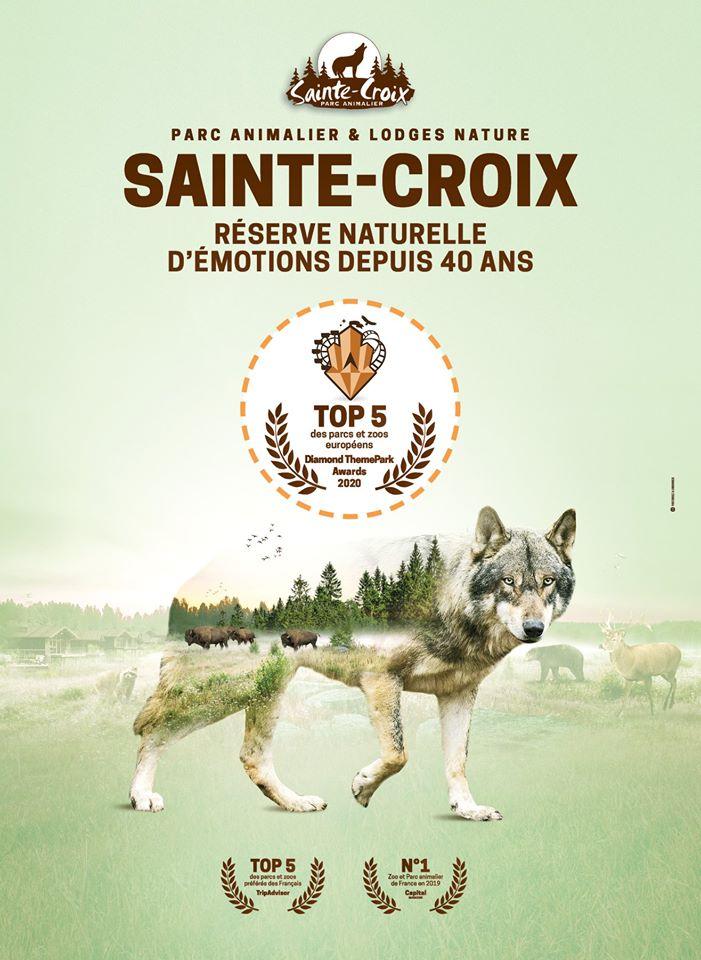 Le parc animalier de Sainte-Croix distingué