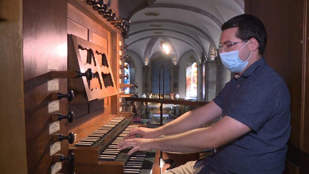 Une salle de classe pas comme les autres pour les cours d'orgue du conservatoire