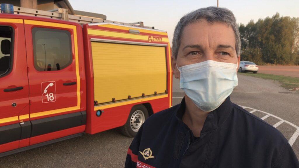 Nouvelle commandante des sapeurs-pompiers