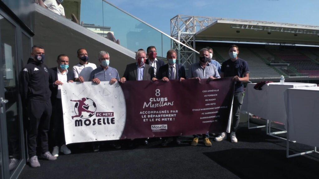 Le FC Metz et la Moselle main dans la main