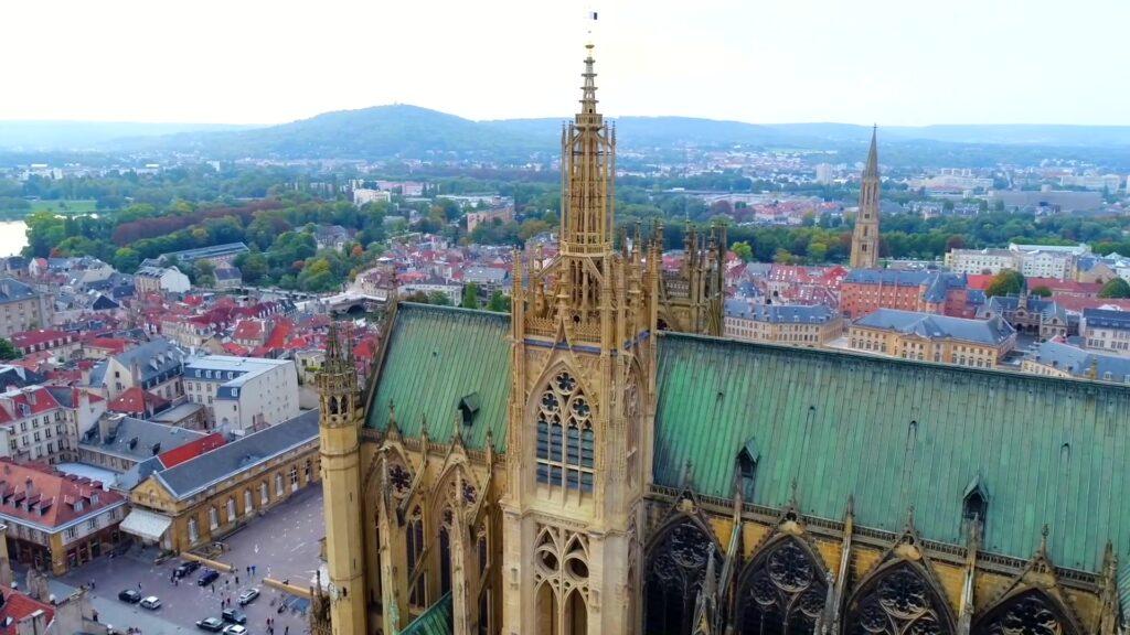 Cathédrale de Metz : deuxième plus belle de France