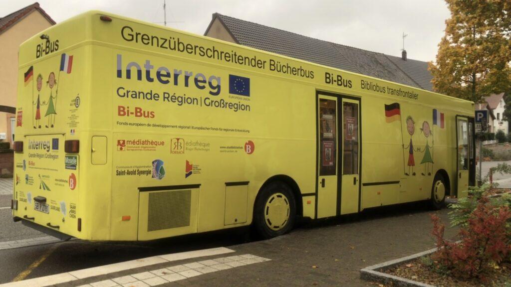 Bi-Bus, une bibliothèque itinérante et transfrontalière
