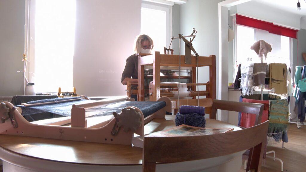Nathalie Gross : histoire d'une tisserande mosellane