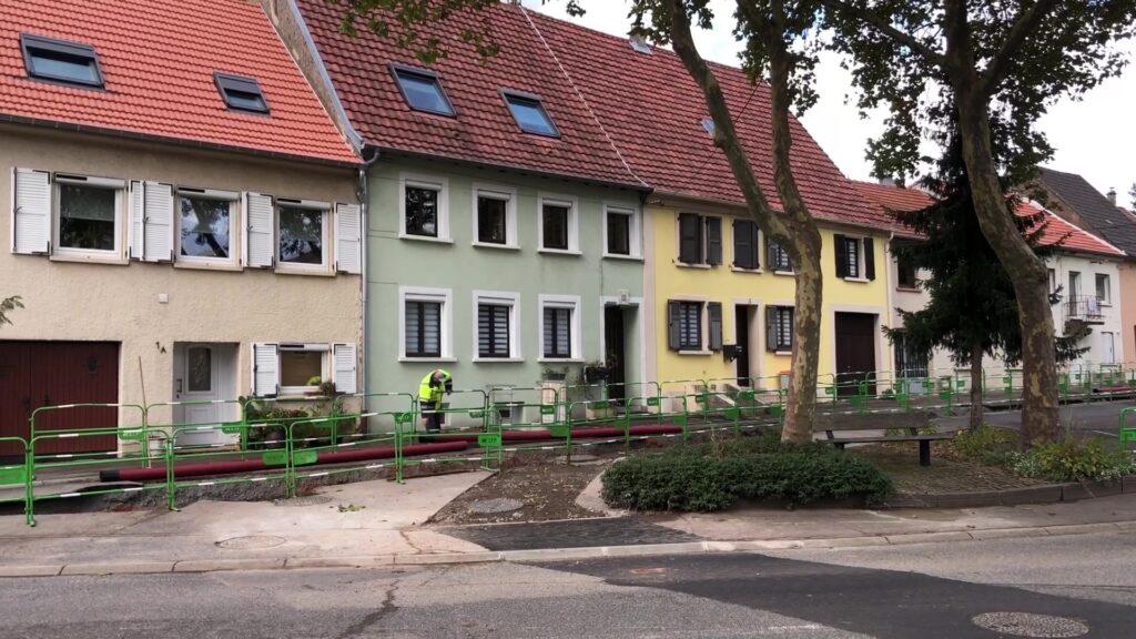 Les réseaux secs sont enterrés à Neunkirch