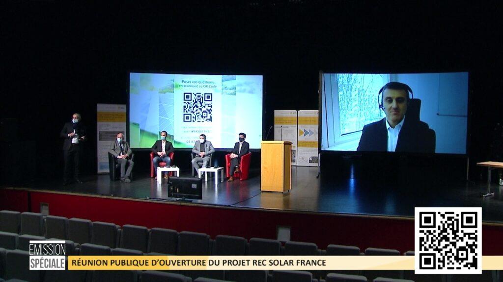 1ère réunion publique pour le projet REC Solar