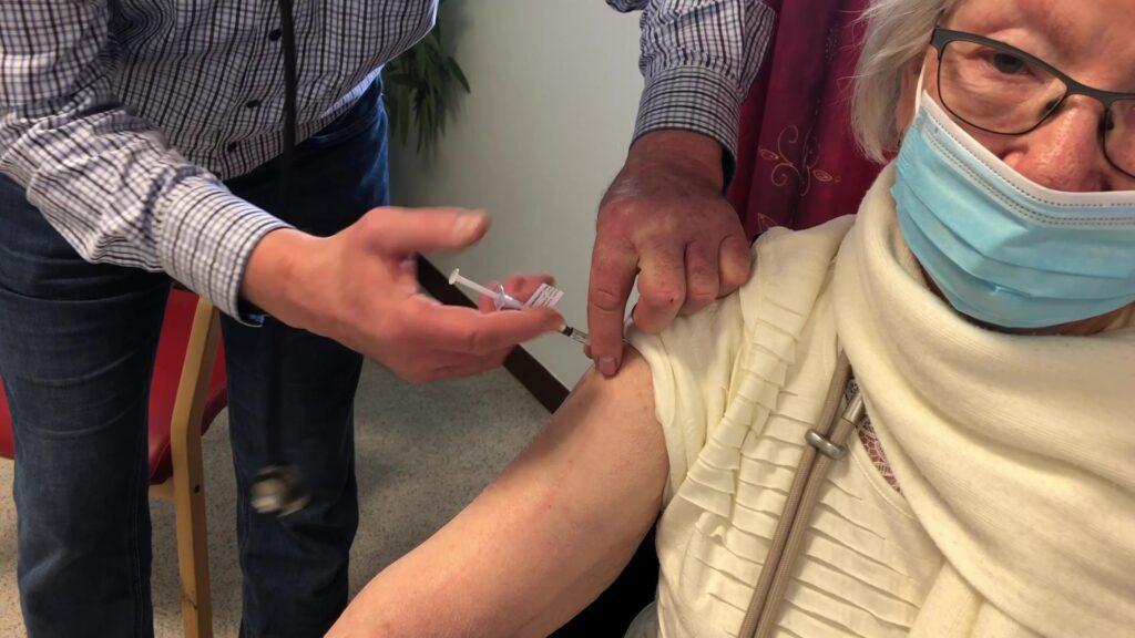 Vaccination à l'EHPAD Les Saules