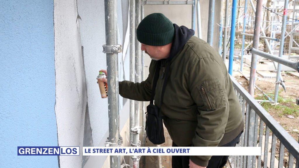 Le Street art, l'art à ciel ouvert