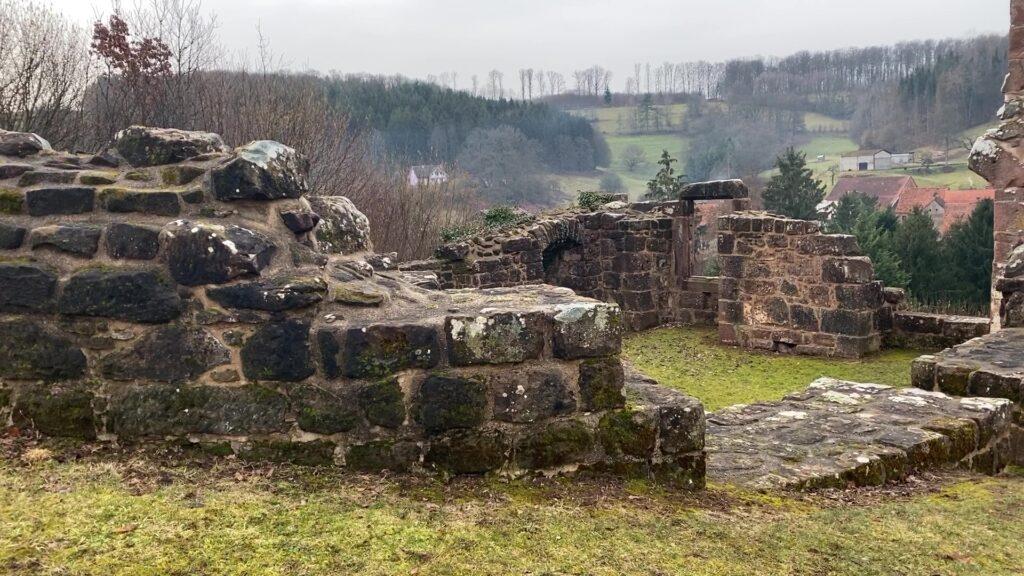 Mise en valeur du site du château du Weckersburg