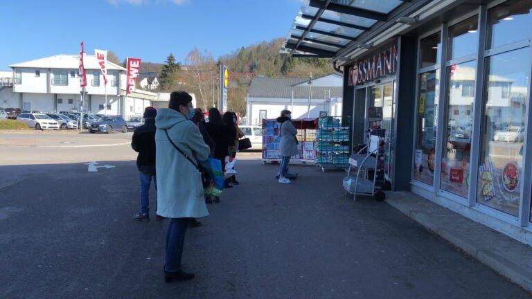 Dernières courses en Allemagne avant l'obligation d'avoir un test PCR négatif