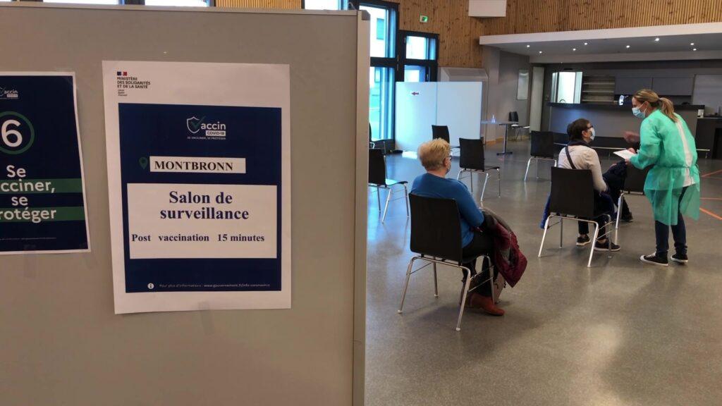 Un centre de vaccination à Montbronn