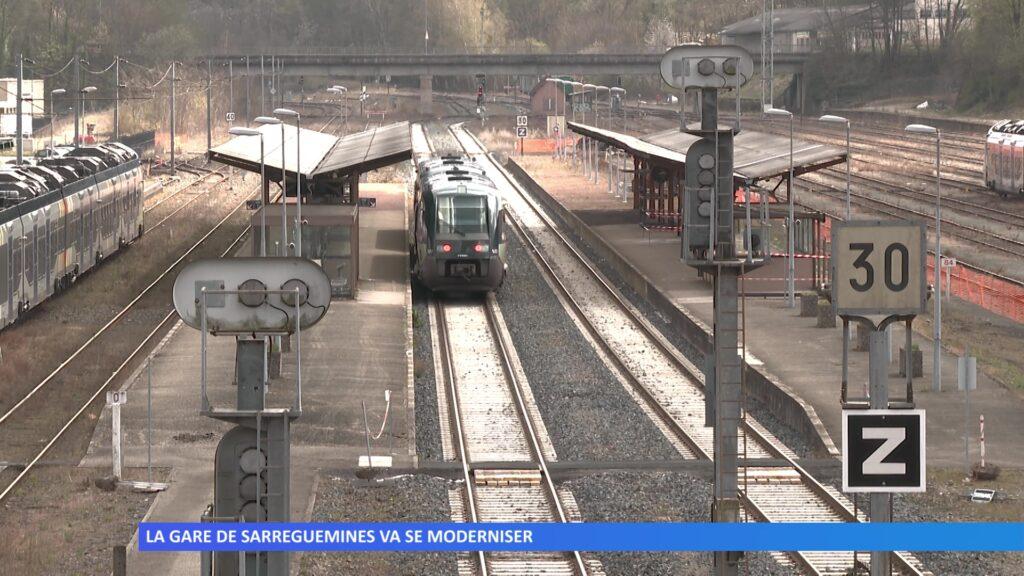 La gare de Sarreguemines se modernise