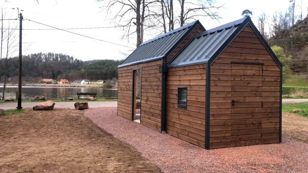 Une cabane écologique à Baerenthal