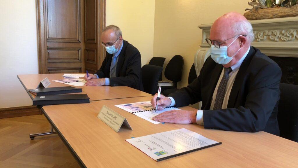 Les finances publiques et la CASC signent deux conventions à Sarreguemines