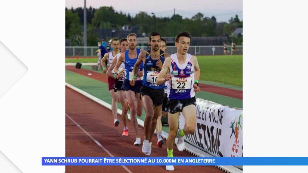Yann Schrub sélectionné pour les 10.000m en Angleterre