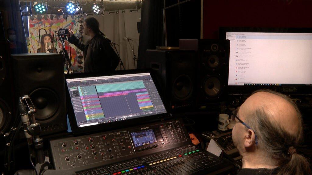 Nouvelle session d'enregistrement studio pour l'album des cœurs éléphant