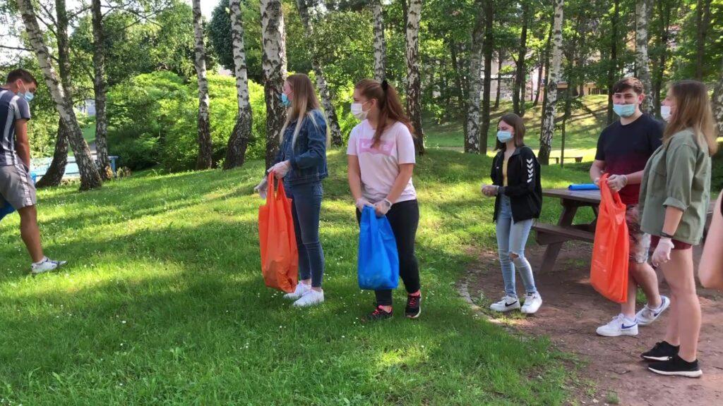 Semaine « Coup de pouce à la Nature » pour les élèves de Bitche