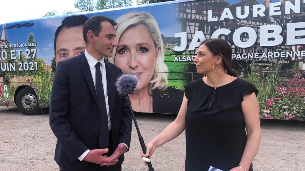 Laurent Jacobelli « Rassemblement pour l'Alsace, la Champagne-Ardenne et la Lorraine »