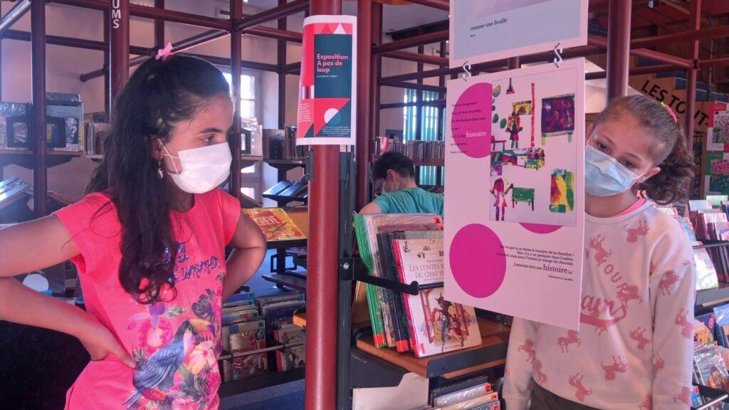 Exposition des élèves à la médiathèque de Bitche