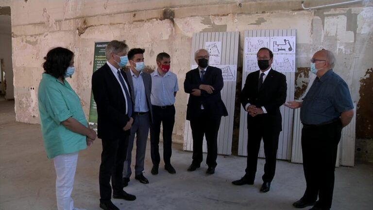 François Hollande en Moselle pour échanger avec les jeunes