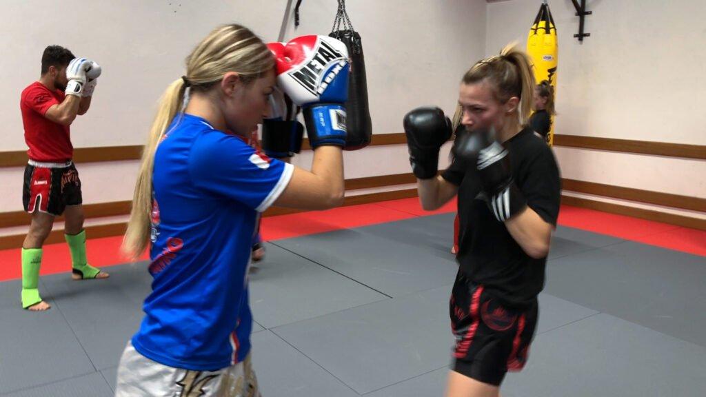 Kick Contact Sarreguemines : quand les filles se mettent à la boxe thaï