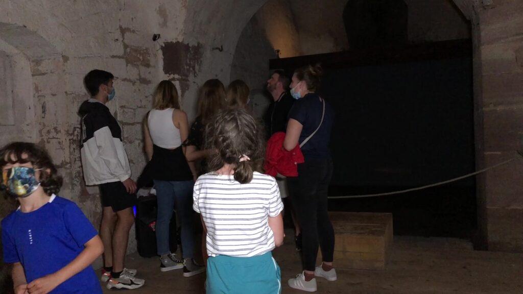 Une visite libre des souterrains de la Citadelle pour la nuit européenne des musées